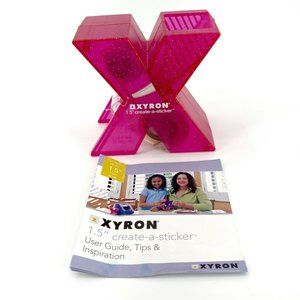 "Xyron Model 1.5"" Create-a-sticker Crafting Pink"